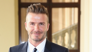 The name's Beckham, David Beckham