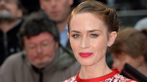 Emily Blunt at the premiere of her new movie Sicario