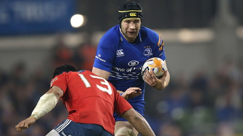 Kevin McLaughlin in action for Leinster