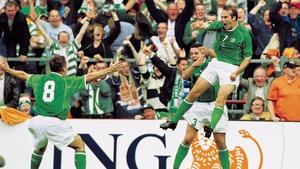 Jason McAteer scored the crucial goal as Ireland defeated Van Gaal's Holland 1-0