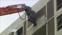 Work under way to demolish last Ballymun tower