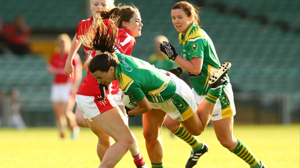 Marie Ambrose, in action against Kerry, is tipped to start for Cork