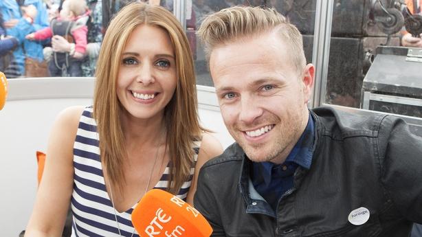 RTÉ 2FM's Jenny Greene and Nicky Byrne