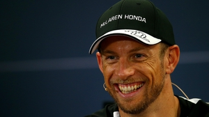 Jenson Button is eager for his F1 comeback with McLaren