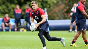 Owen Farrell has been selected at out-half for the Wales clash