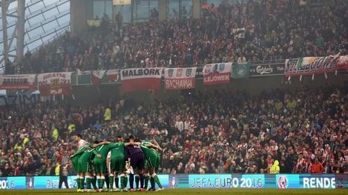 Ireland will welcome Switzerland to Dublin in March