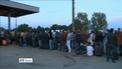 Masses of refugees arrive in Croatia