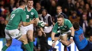 Conor Murray (l) is confident that Ian Madigan could step in at scrum-half if needed