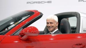Matthias Mueller said VW has the chance to emerge stronger from the crisis thanks to its strong brands