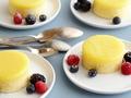 Nevens Recipes - Lemon sponge pudding with blackberries