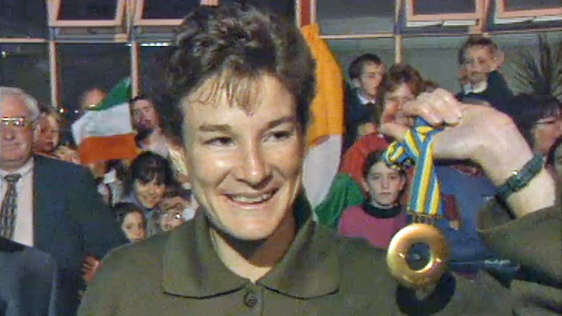 Sonia O'Sullivan Is 5000 Metre World Champion