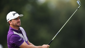 Graeme McDowell is two off the lead in Hong Kong