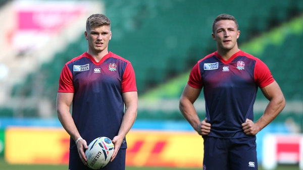 Owen Farrell and Luke Burgess have been picked to start against Wales