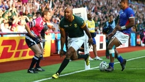 JP Pietersen grabbed a hat-trick of tries as South Africa beat Samoa
