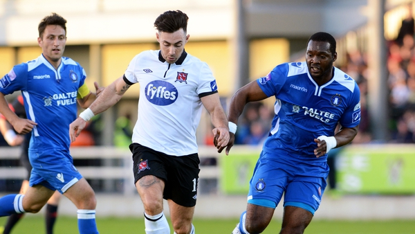 Richie Towell scored twice as Dundalk came back to win