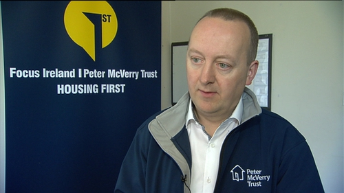 CEO Pat Doyle has called on the Government to continue to prioritise homelessness