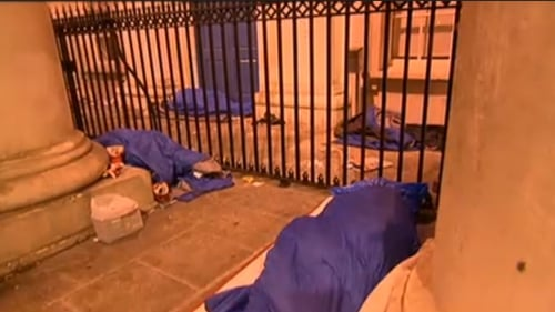 A rough sleeper count conducted last night is expected to show a rise in the number of people sleeping on the streets of Dublin