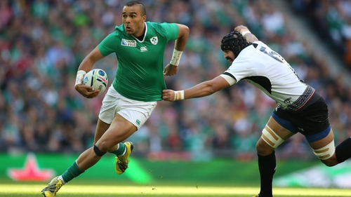 Shane Horgan has backed Simon Zebo to continue his good form for Ireland