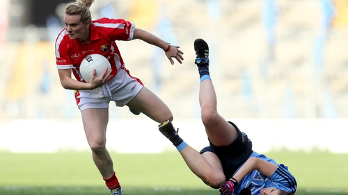 Briege Corkery collected her 16th All-Ireland medal in football and camogie with victory over Dublin
