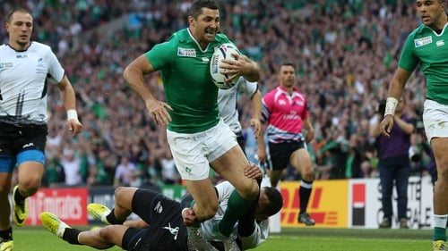 Rob Kearney's gluteal strain appears to be a minor complaint