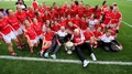 Rebelettes claim fifth football title in a row