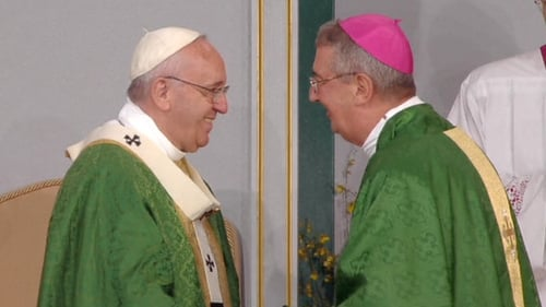 Diarmuid Martin said it was too early to say if Pope Francis would attend the World Meeting of Families in 2018