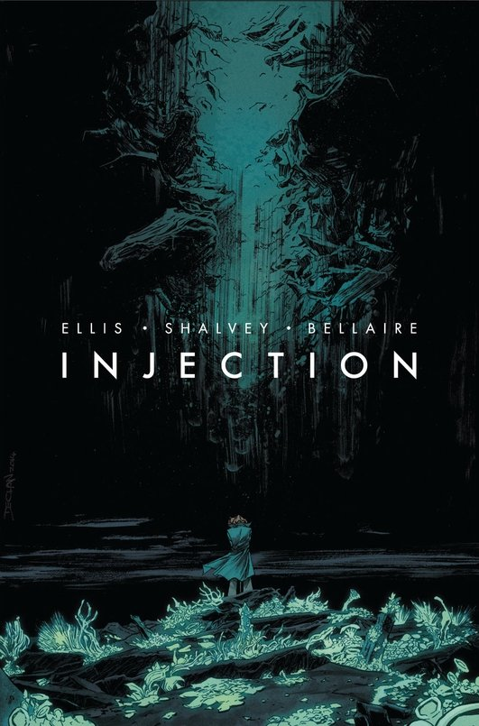 """Injection"" graphic novels by Declan Shalvey"