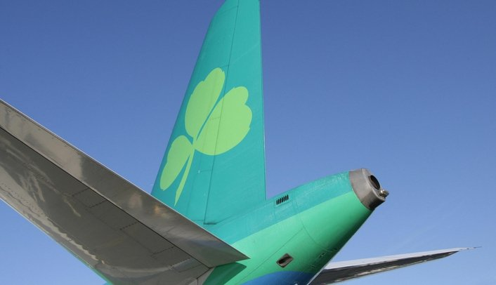 Emergency landing at Dublin Airport