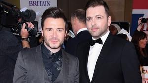 Shane Filan and former Westlife band member Markus Feehily