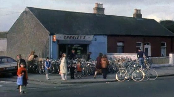 Charley's Bike Shop, Ballybough, 1980