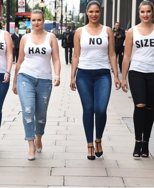 Evans #Style Has No Size campaign as part of UK