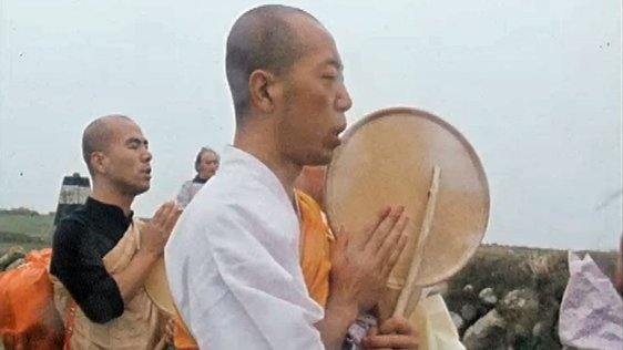 Japanese Monks Protest at Carnsore Point