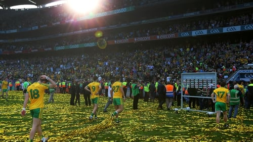 Donegal were beaten in the All-Ireland final by Kerry