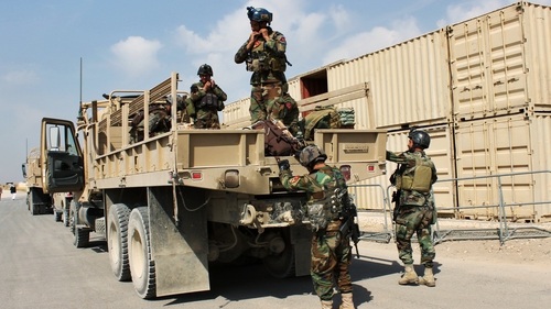 Afghan forces are battling for control of Kunduz