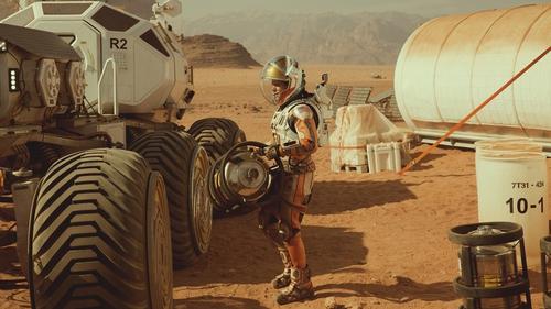 The Jordanian desert stands in for the vast, echoless expanses of Mars