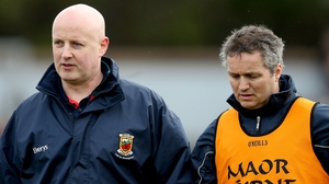 Pat Holmes (l) and Noel Connelly had just one season in charge