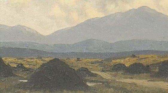 'The Bog Road' by Paul Henry