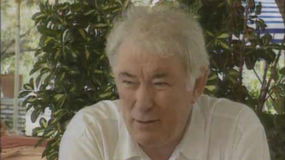 Seamus Heaney in Greece 1995