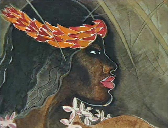 Pauline Bewick Painting (1990)