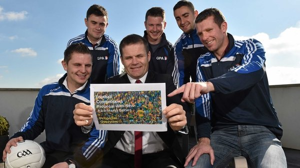 Dessie Farrell pictured at the announcement of the new proposals