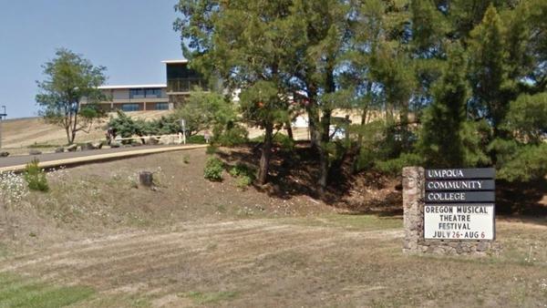 The shooting happened at Umpqua Community College campus in Roseburg, Oregon (Pic: Google Maps)