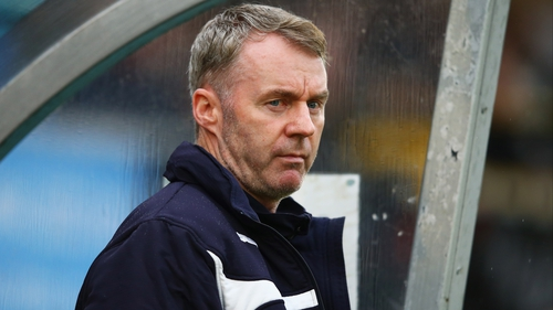 John Sheridan won't be in the Notts County dugout anymore after his sacking