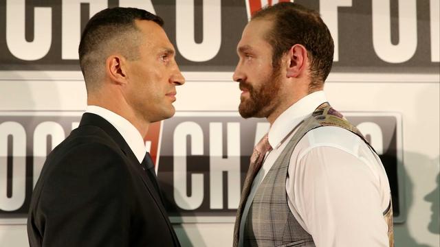 Klitschko v Fury set for late November