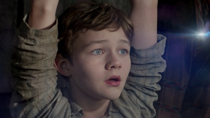Levi Miller plays Peter Pan in Warner Bros Pictures' Pan