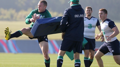 Before August, Earls last played for Ireland in early 2013