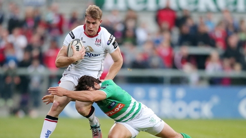 Andrew Trimble is Ulster's most-capped player