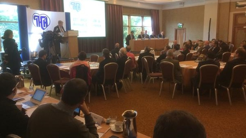 The Irish Hospital Consultants' Association annual conference is taking place in Tullamore today