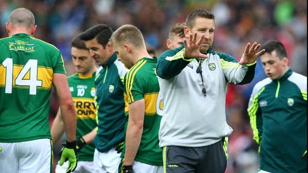 Cian O'Neill has left his post with the Kerry side to take up the manager's position with his home county Kildare