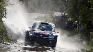 Finnish driver powers into first place in Corsica