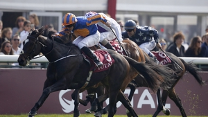 Ballydoyle on her way to victory at Longchamp in 2015